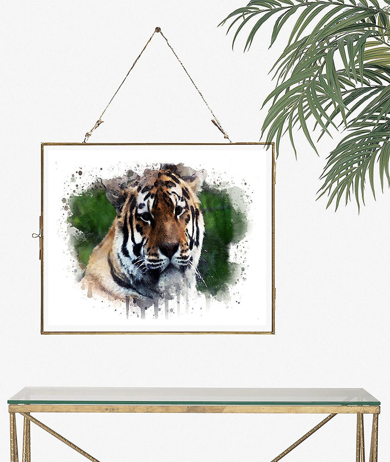 Tiger Watercolor Art Print - Unframed - Zuzi's