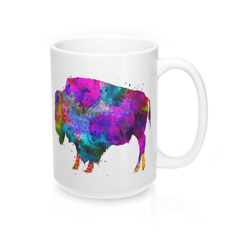 Watercolor Buffalo Mug - Zuzi's