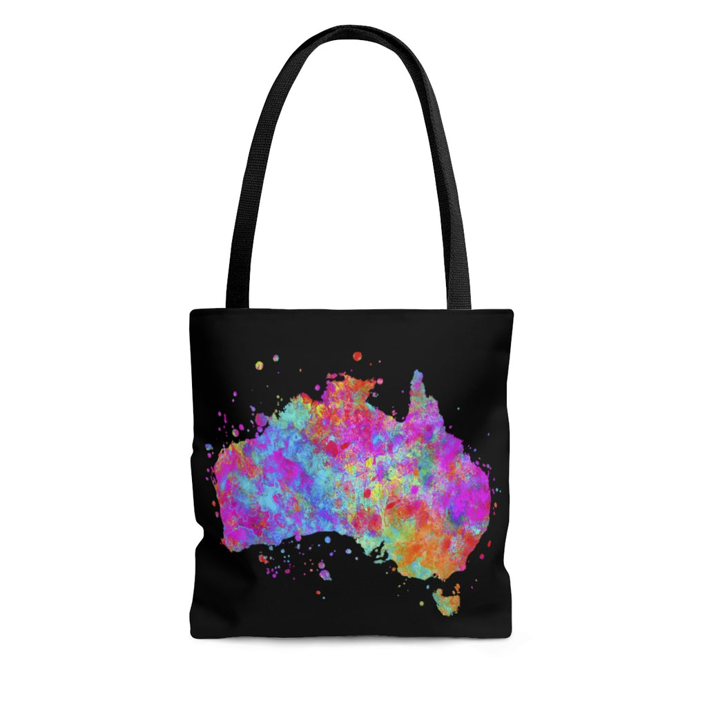 Watercolor Australia Map Tote Bag - Zuzi's