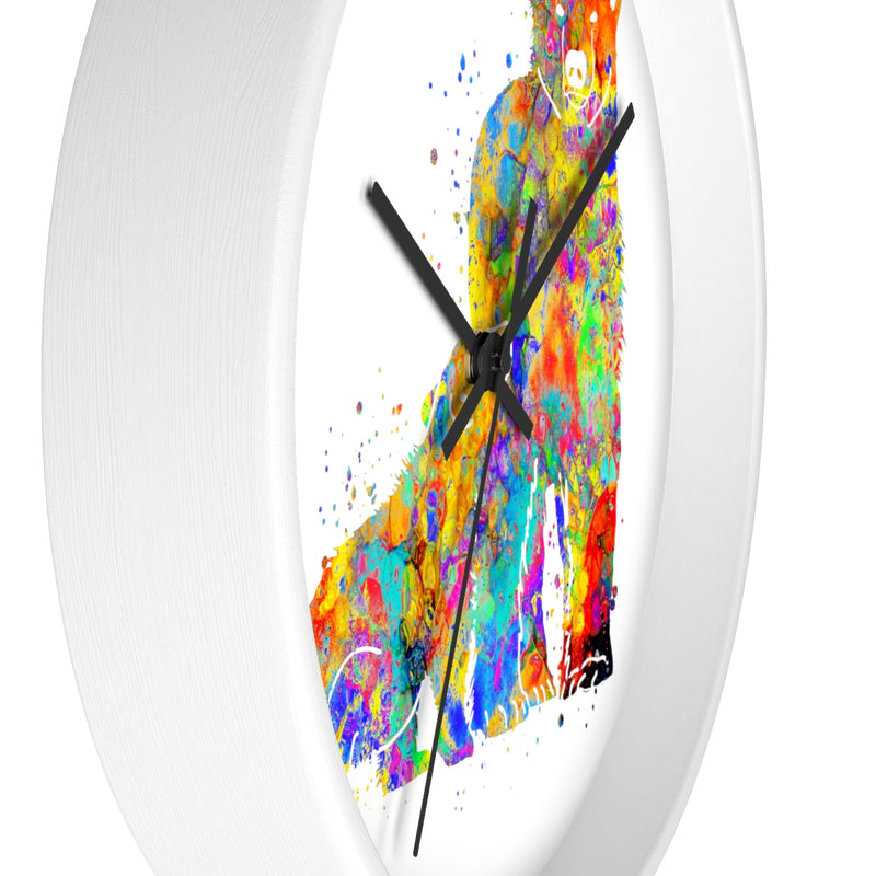 Watercolor Bear Family Wall Clock - Zuzi's