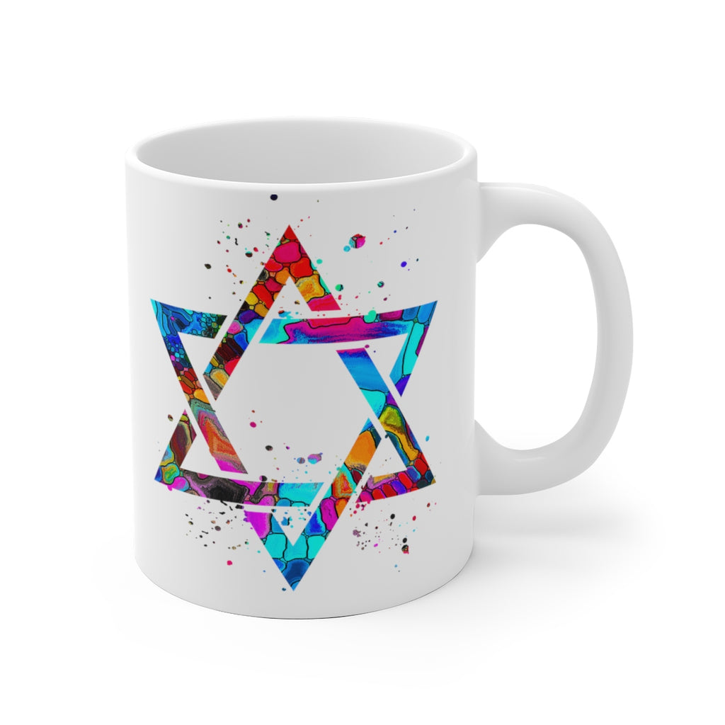 Star Of David Mug - 11 oz, 15 oz