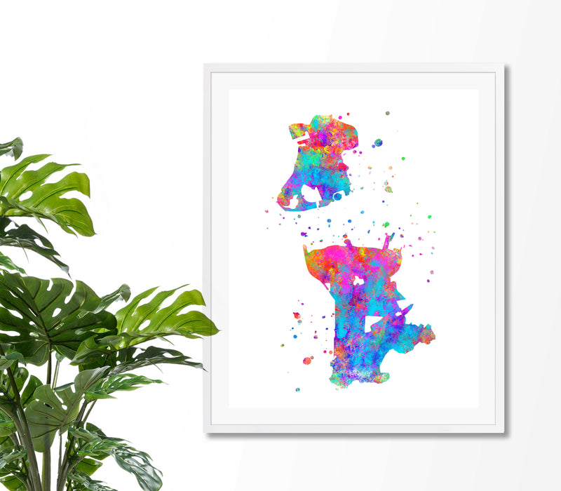 Macau Map Art Print - Unframed - Zuzi's