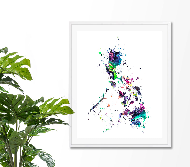 Philippines Map Art Print - Unframed - Zuzi's