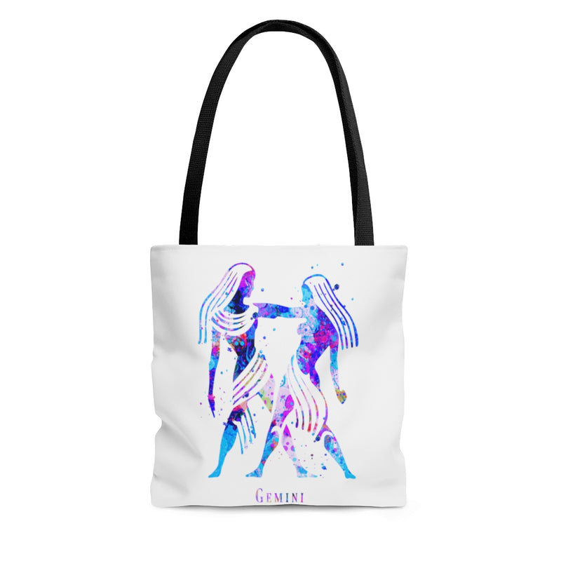 Gemini  Zodiac Sign Tote Bag - Zuzi's