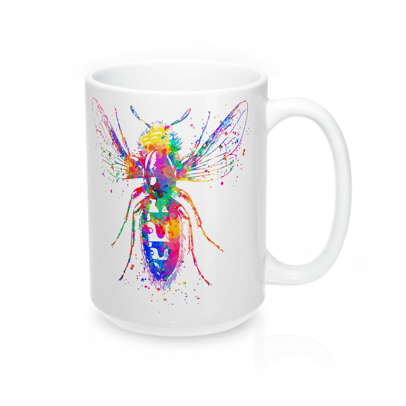 Watercolor Bee Mug - Zuzi's