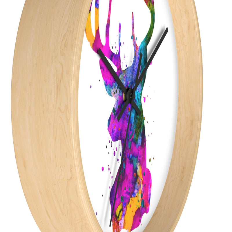 Stag Head Wall Clock - Zuzi's