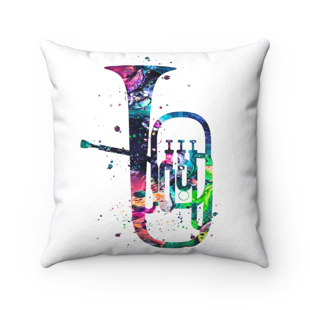 Tuba Square Pillow - Zuzi's