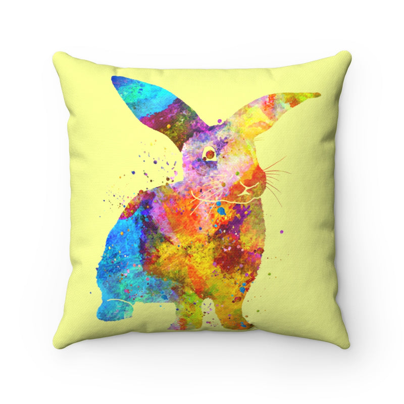 Bunny Rabbit Square Pillow - Zuzi's
