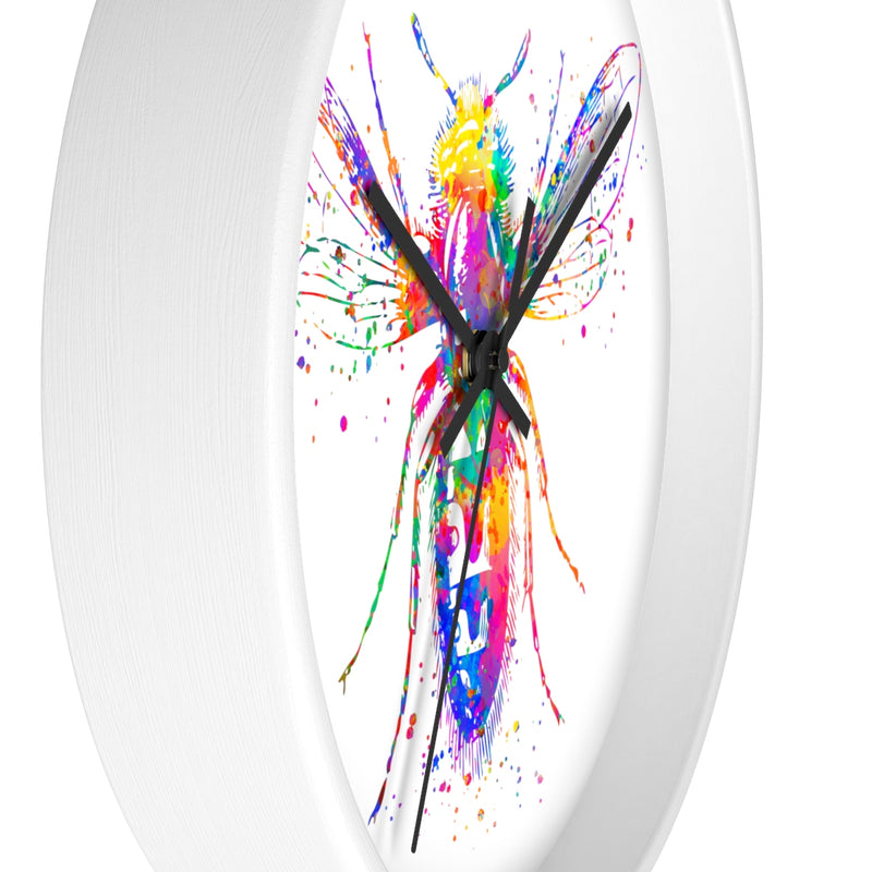 Watercolor Bee Wall clock - Zuzi's
