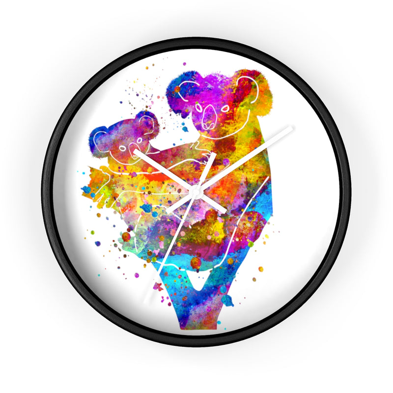 Watercolor Koala Wall Clock - Zuzi's