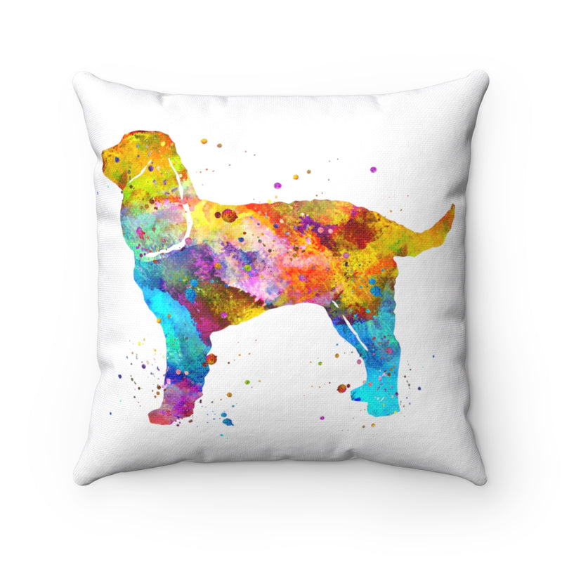 American Water Spaniel  Square Pillow - Zuzi's
