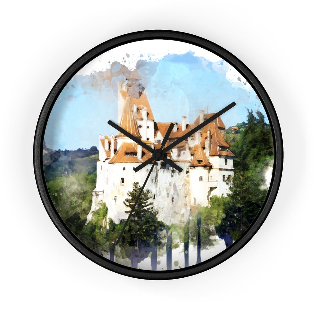 Dracula Castle Wall Clock