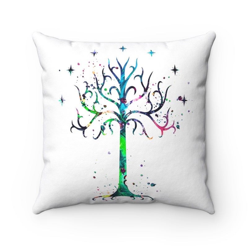 Tree Of Gondor Square Pillow - Zuzi's