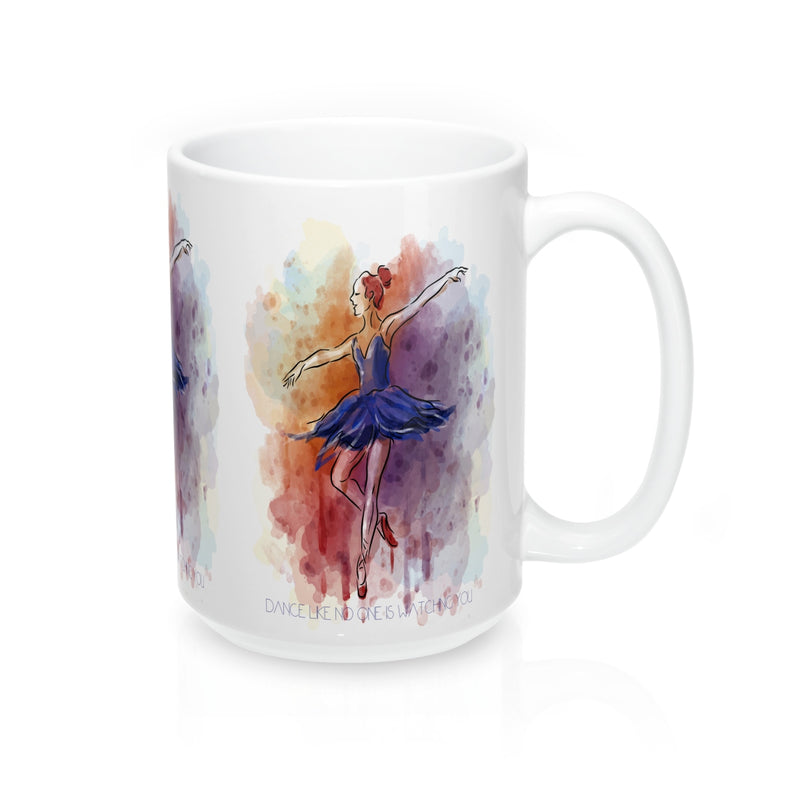 Ballerina Dance Quote Mug - Zuzi's