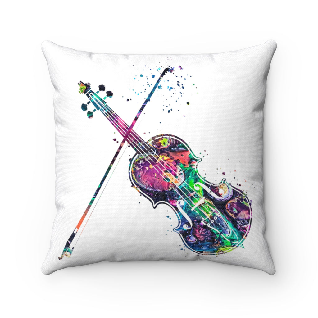 Violin Square Pillow - Zuzi's