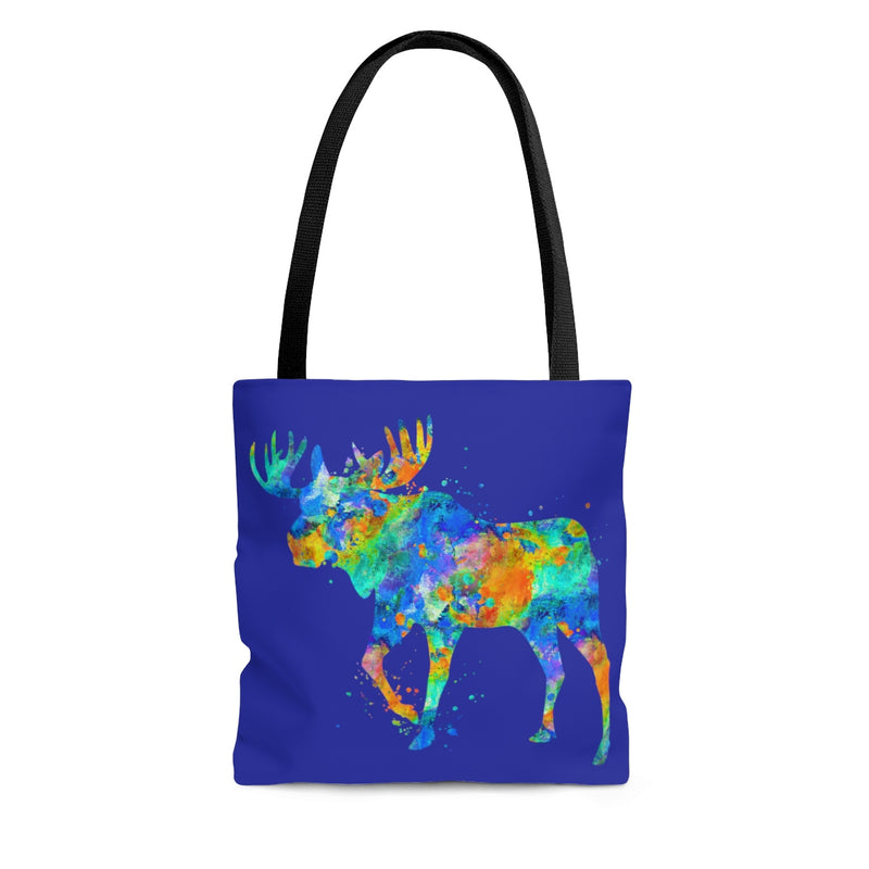 Watercolor Moose Tote Bag - Zuzi's