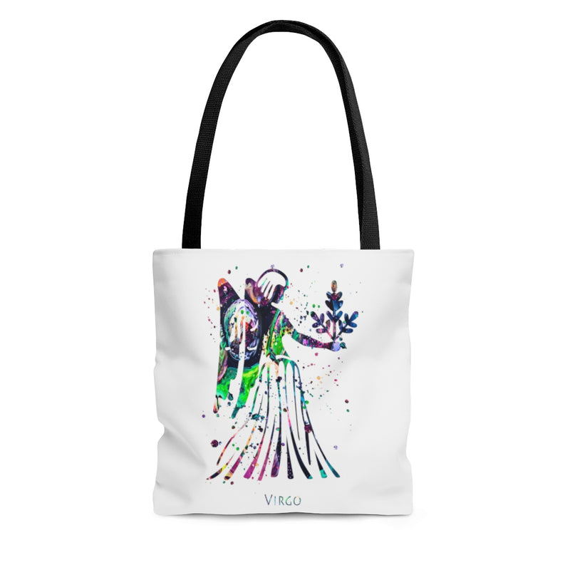 Virgo Zodiac Sign Tote Bag - Zuzi's