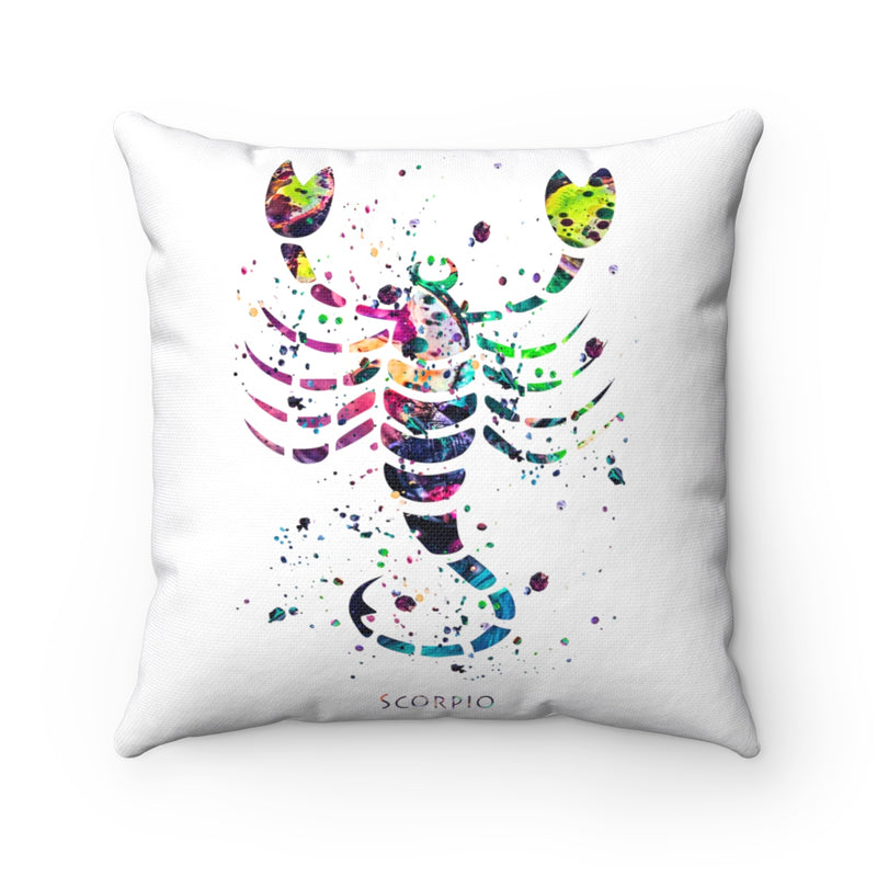 Scorpio Square Pillow - Zuzi's