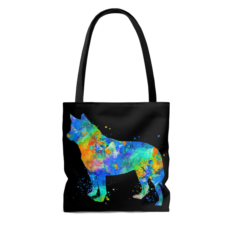 Watercolor Australian Cattle Dog Tote Bag - Zuzi's