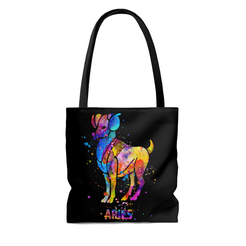 Aries Zodiac Sign Tote Bag - Zuzi's
