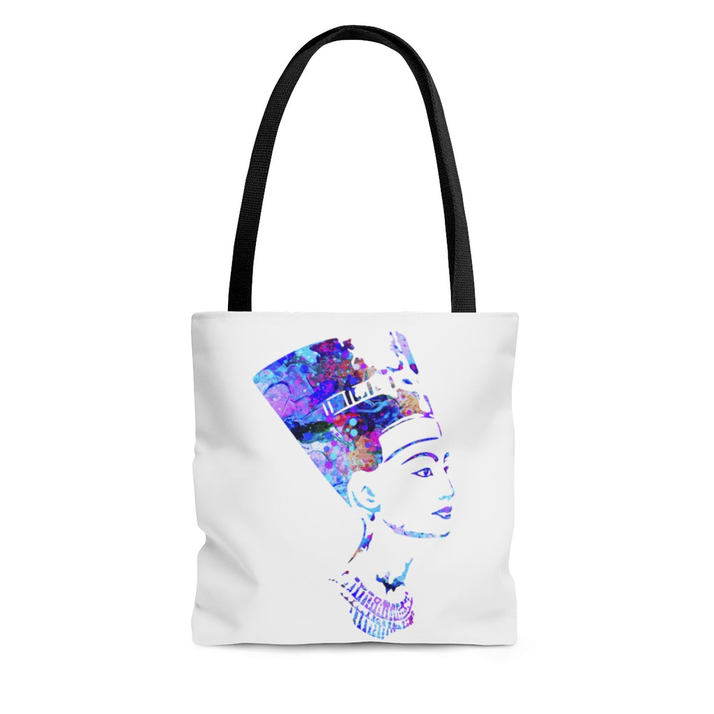 Watercolor Nefertiti  Tote Bag - Zuzi's