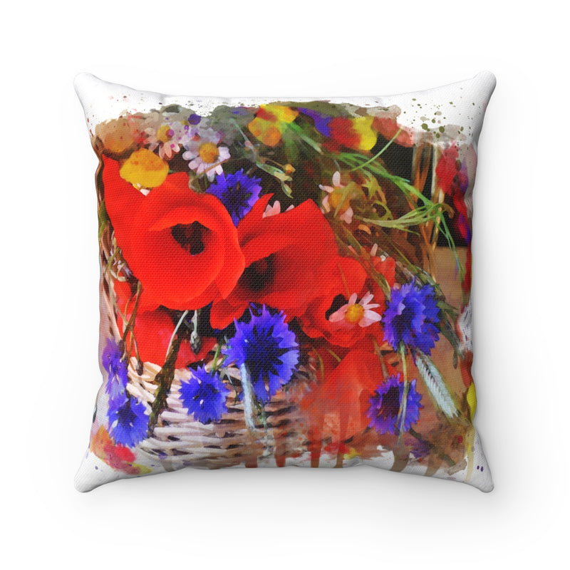 Wild Flowers Square Pillow - Zuzi's