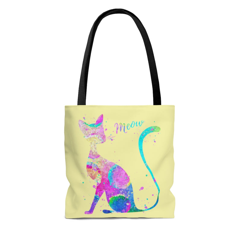 Abstract Cat Tote Bag - Zuzi's