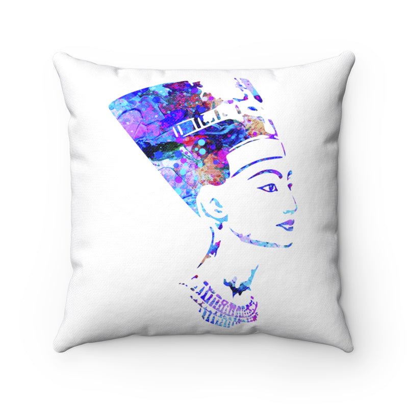 Queen Nefertiti Square Pillow - Zuzi's