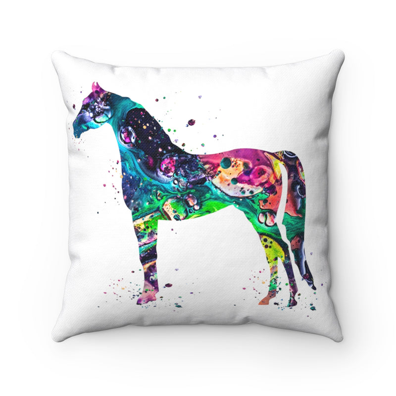 Colorful Horse  Square Pillow - Zuzi's