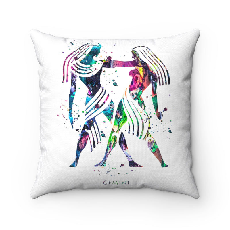 Gemini Square Pillow - Zuzi's