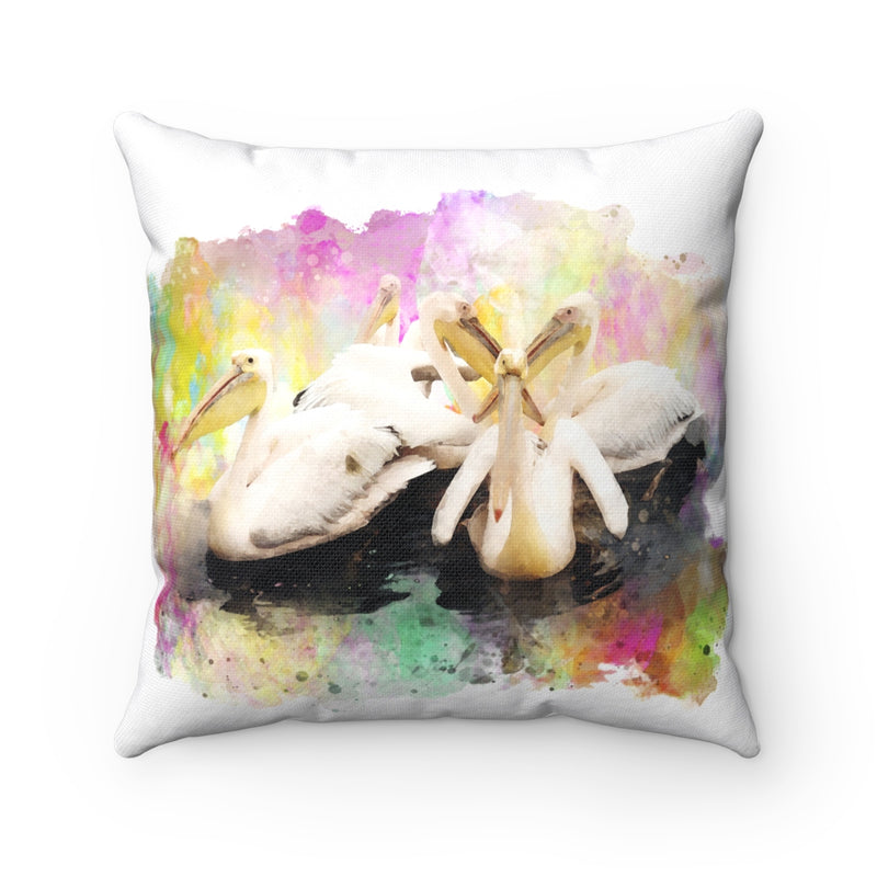 Pelicans Square Pillow - Zuzi's
