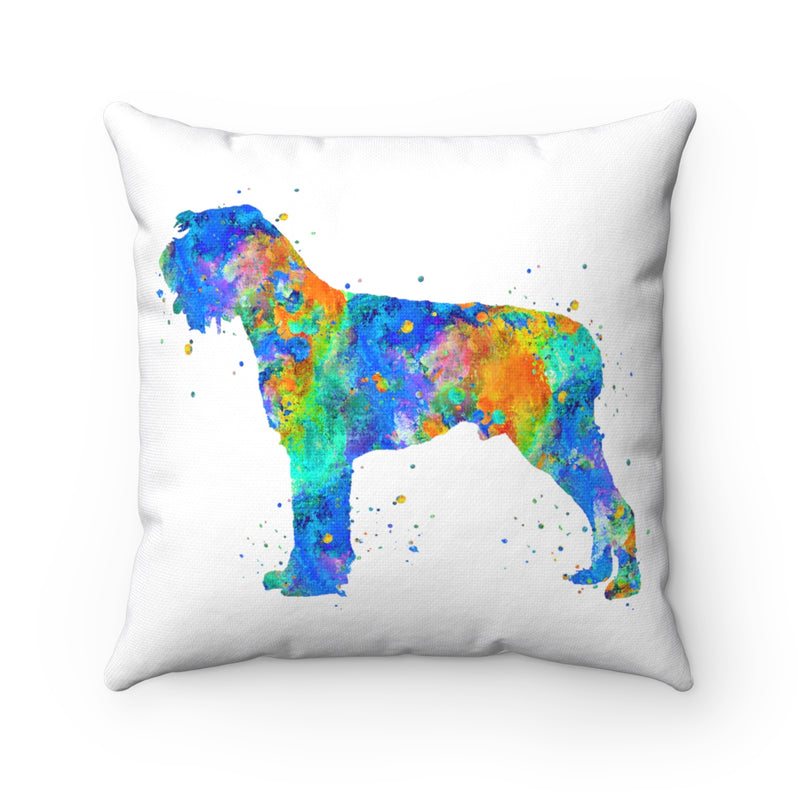 German Wirehaired Pointer Square Pillow - Zuzi's