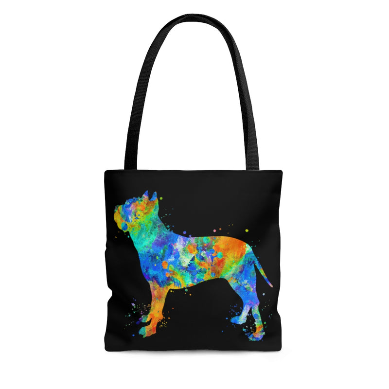 Watercolor  American Staffordshire Terrier Tote Bag - Zuzi's