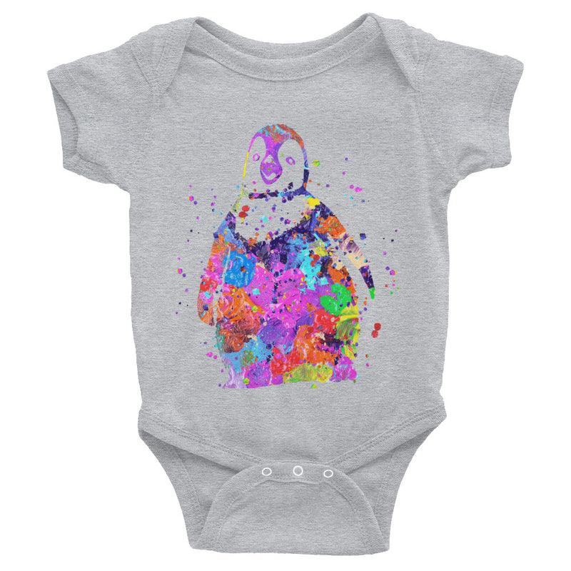 Watercolor Penguin Infant Bodysuit - Zuzi's
