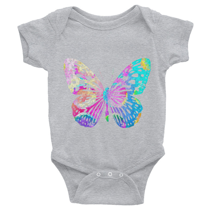 Watercolor Butterfly Infant Bodysuit - Zuzi's