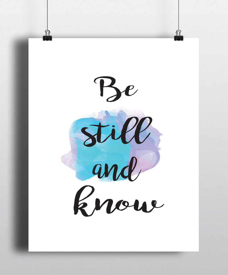 Be Your Beautiful Self Quote Art Print - Unframed