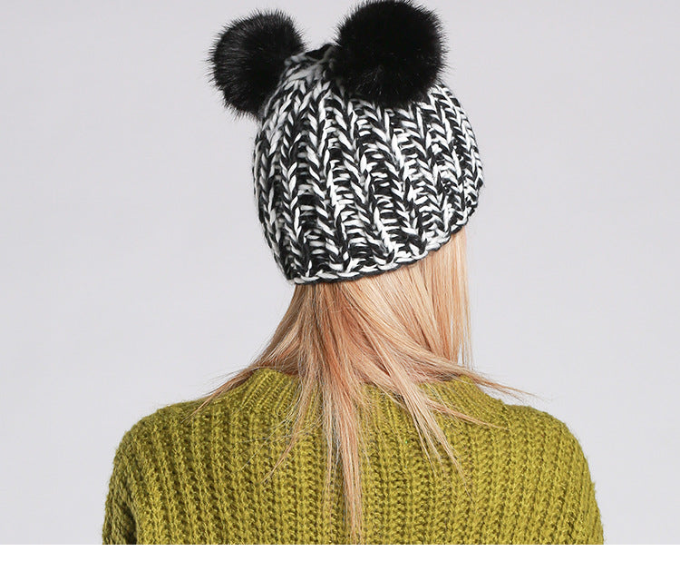 Knitted Beanie Multiple Colors - Zuzi's