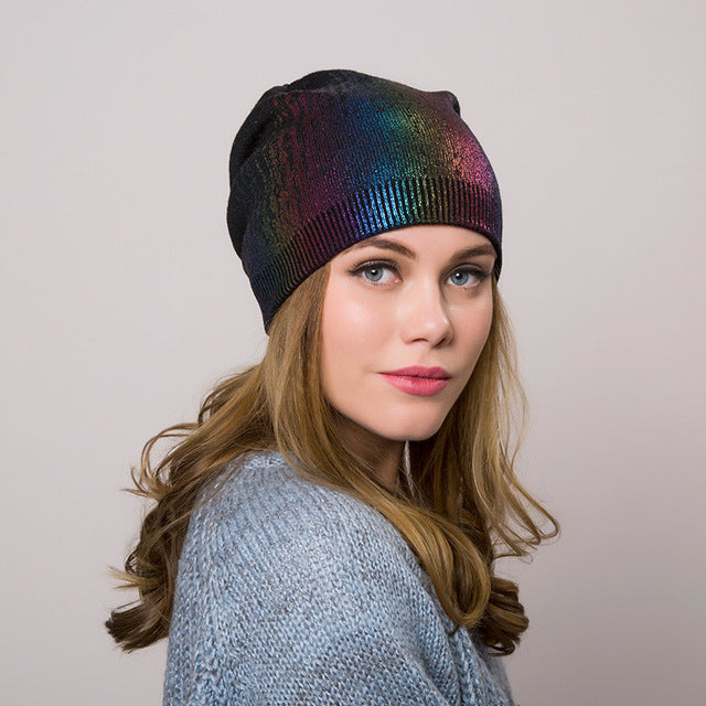 Knitted  Hat Beanie Multiple Colors - Zuzi's