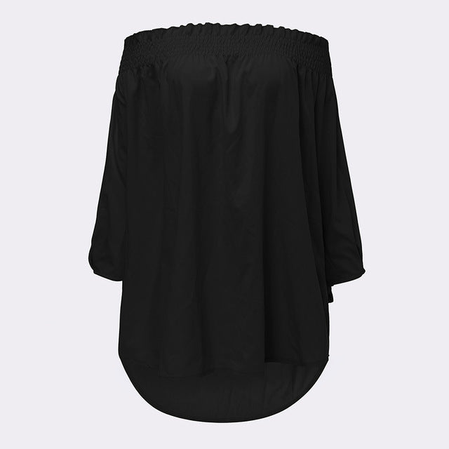 Sexy Off Shoulder Blouse - Zuzi's
