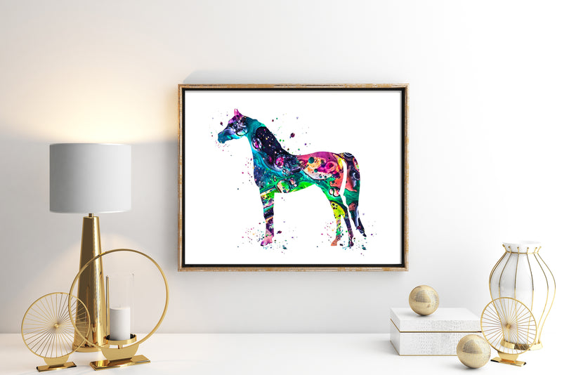 Horse Watercolor Art Print - Unframed - Zuzi's
