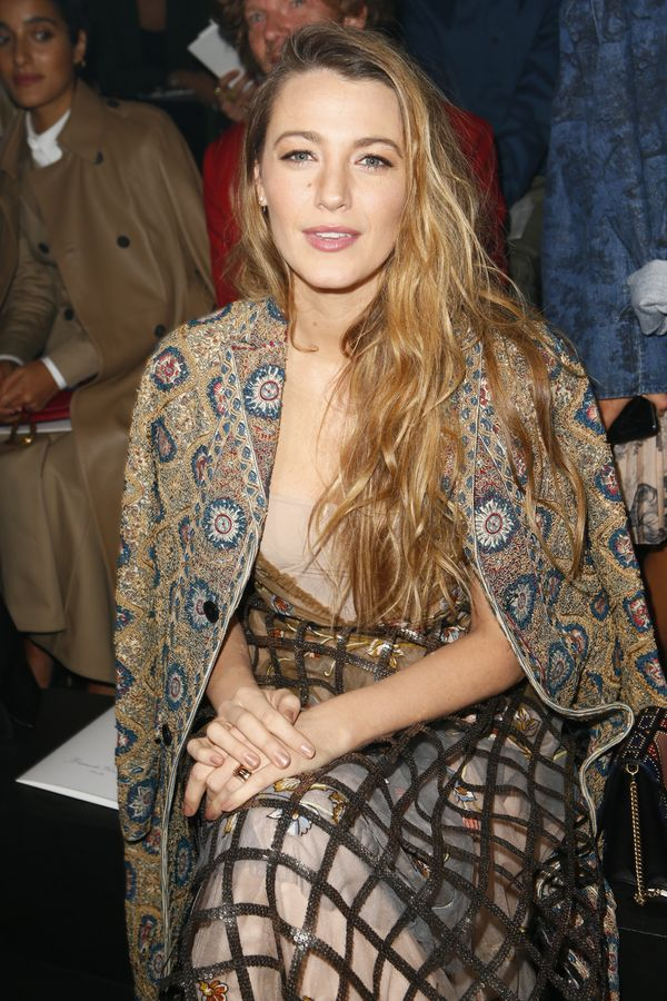 Blake Lively at Dior's Paris Runway