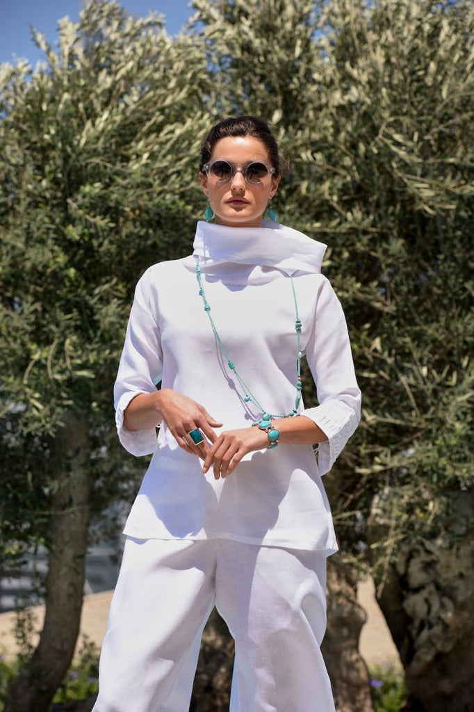 Fácil Blanco featured in Vogue Arabia