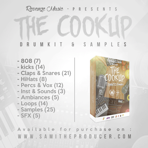 THE COOKUP FL STDUIO DRUM KIT
