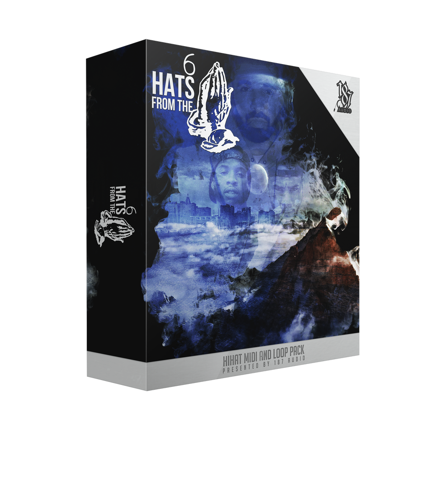Hats From the 6 - Sonic Sound Supply - drum kits, construction kits, vst, loops and samples, free producer kits, producer sounds, make beats