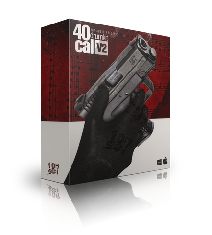 40 Cal V2 Drumkit - Sonic Sound Supply - drum kits, construction kits, vst, loops and samples, free producer kits, producer sounds, make beats
