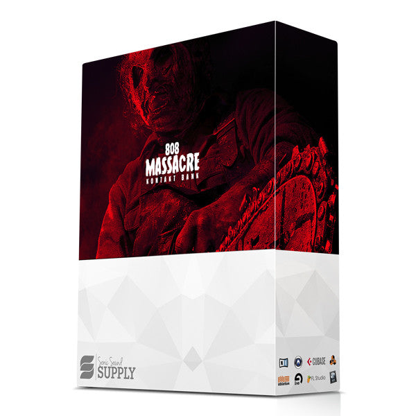 808 Massacre - VSTi - Sonic Sound Supply - drum kits, construction kits, vst, loops and samples, free producer kits, producer sounds, make beats