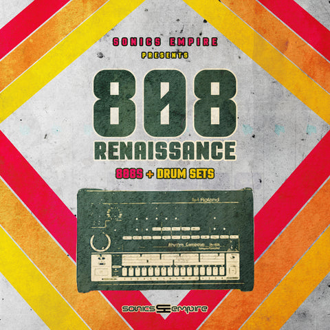 808 Renaissance - Sonic Sound Supply - drum kits, construction kits, vst, loops and samples, free producer kits, producer sounds, make beats