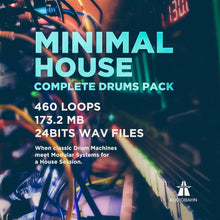 Load image into Gallery viewer, MINIMAL HOUSE - Sonic Sound Supply - drum kits, construction kits, vst, loops and samples, free producer kits, producer sounds, make beats