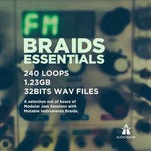 Load image into Gallery viewer, Braids Essentials - Sonic Sound Supply - drum kits, construction kits, vst, loops and samples, free producer kits, producer sounds, make beats