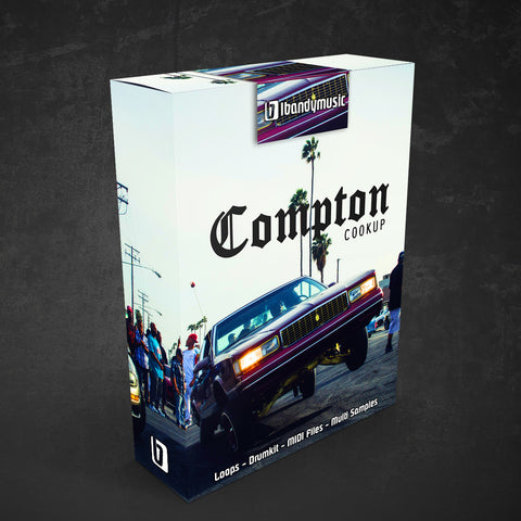 Compton Cookup - Sonic Sound Supply - drum kits, construction kits, vst, loops and samples, free producer kits, producer sounds, make beats